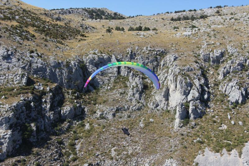 Alex Raymont BDG Diva Paraglider