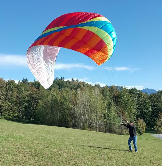 Bruce Goldsmith Design Paraglider Kiting