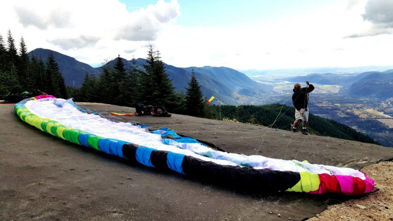 Mark Tulloch BDG Paraglider