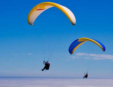 Guided Cross Country Paragliding
