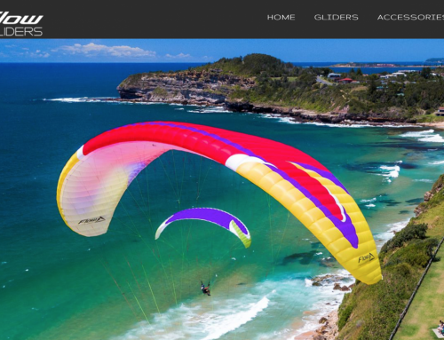 FLOW Paragliders now available at XC Paragliding!